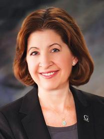 Becky M. Bergman, President, Gustavus Adolphus College