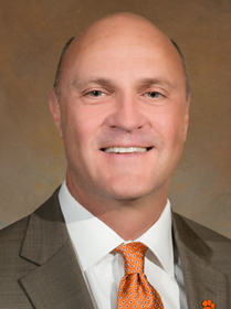 James P. Clements, President of Clemson University