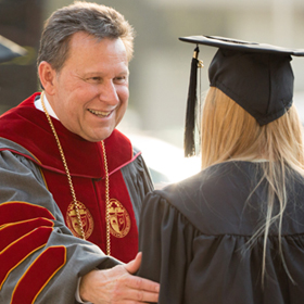 Dr. Ralph Kuncl, President of University of Redlands