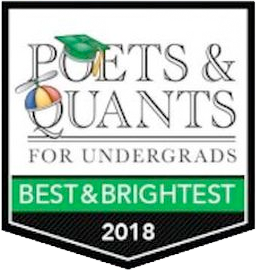 Poets & Quants for Undergraduates Best & Brightest 2018