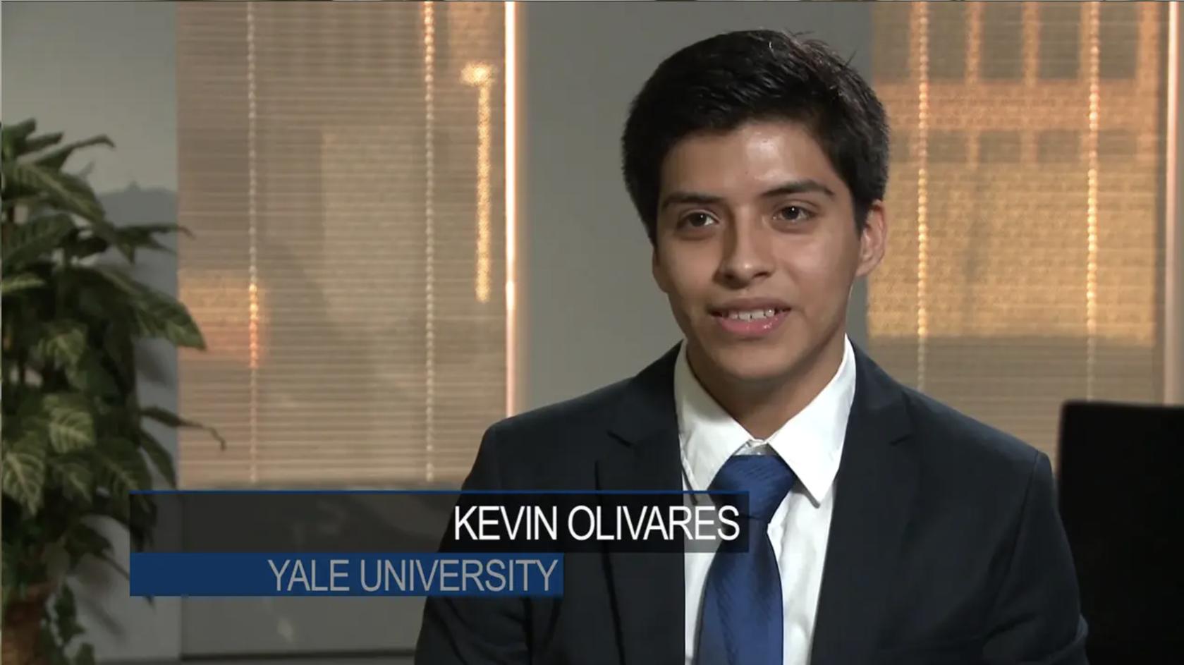 Kevin Olivares ('16), Yale University