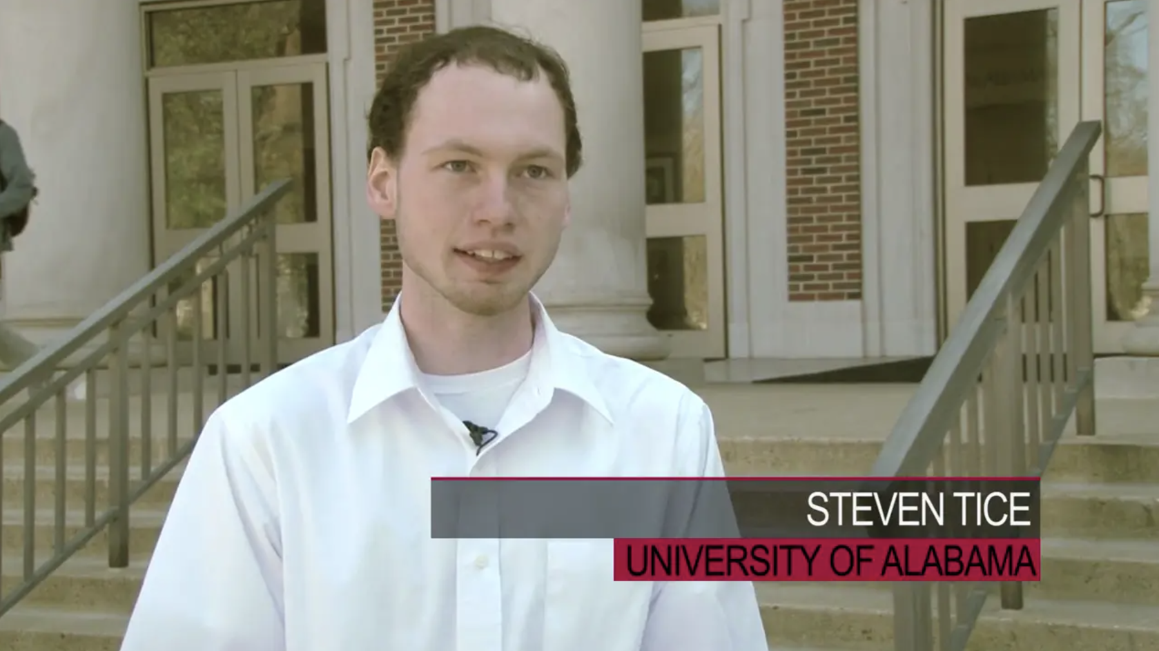 Steven Tice ('17), University of Alabama