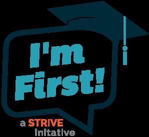 I'm First Logo